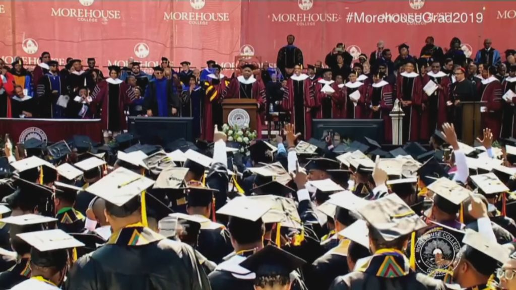Morehouse students just got a stunning graduation gift. What can help more students of color?