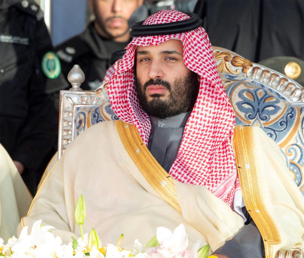 Saudi Arabia's Crown Prince Mohammed bin Salman attends a graduatio…