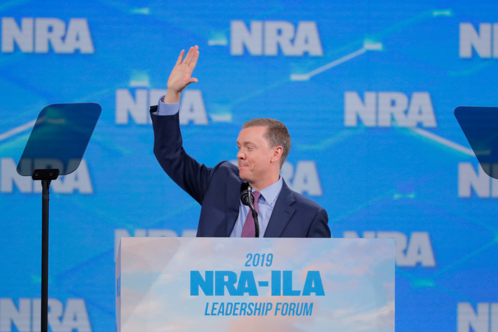 NRA's top lobbyist resigns amid turmoil within the group