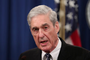 Special Counsel Robert Mueller makes a statement on his investigation into Russian interference in the 2016 U.S. presidential election at the Justice Department in Washington, on May 29, 2019. Photo by Jim Bourg/ReutersSpecial Counsel Robert Mueller makes a statement on his investigation into Russian interference in the 2016 U.S. presidential election at the Justice Department in Washington, on May 29, 2019. Photo by Jim Bourg/Reuters