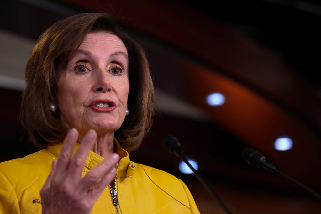 Pelosi rules out censuring Trump as alternative to impeachment