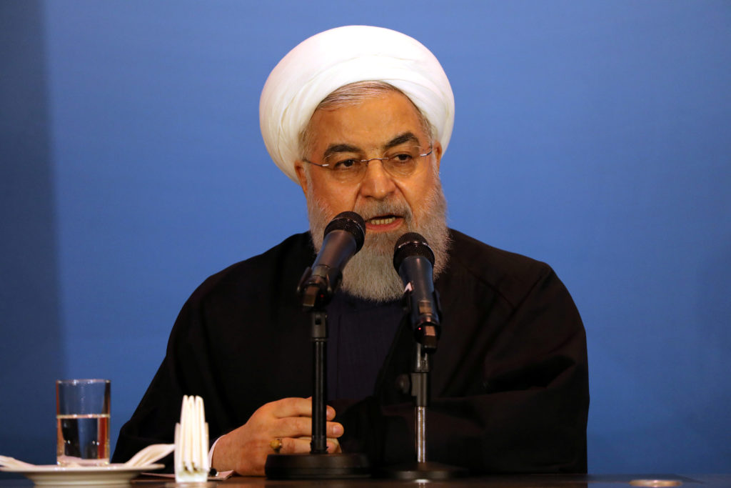 Iran's president says the White House is 'afflicted by mental retardation'