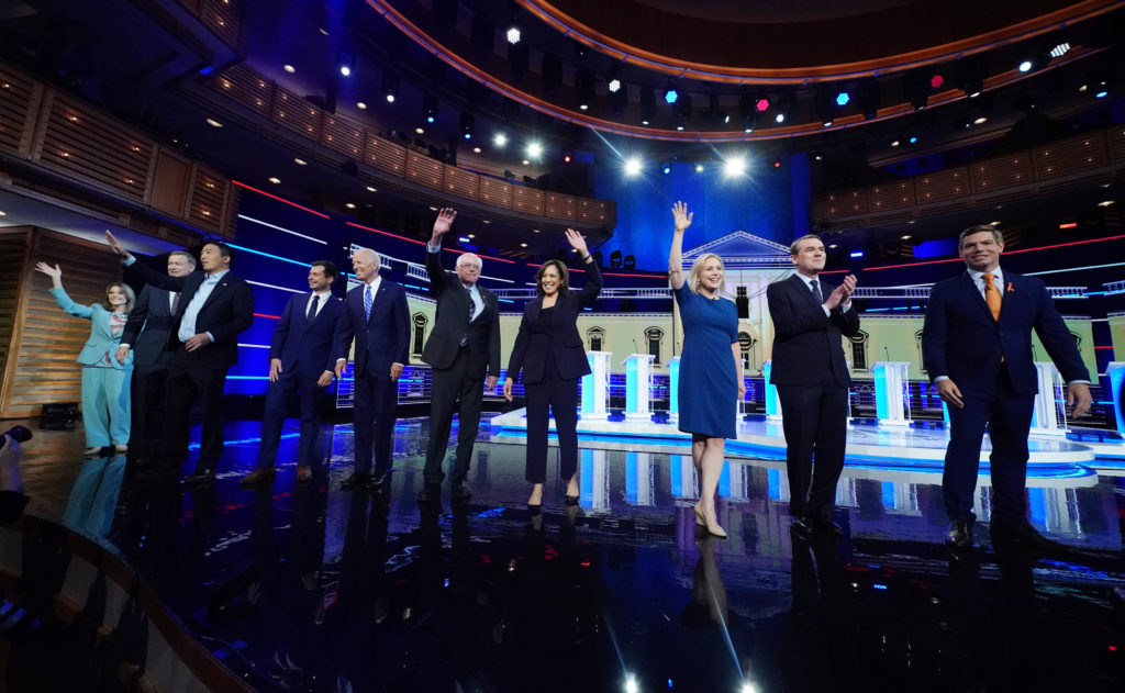 Democratic U.S. 2020 election presidential candidates including aut…