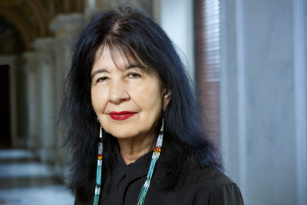 Poet Laureate of the United States Joy Harjo. Photo taken June 6, 2019 by Shawn Miller/Library of Congress