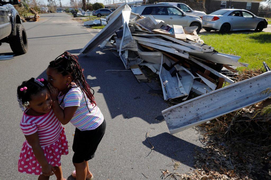 Hurricane Michael's toll on Florida children's mental health