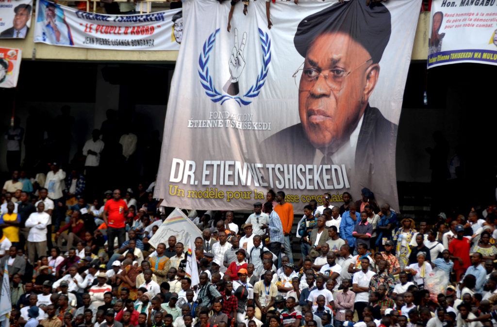 Funeral for Congo's Etienne Tshisekedi, president's father