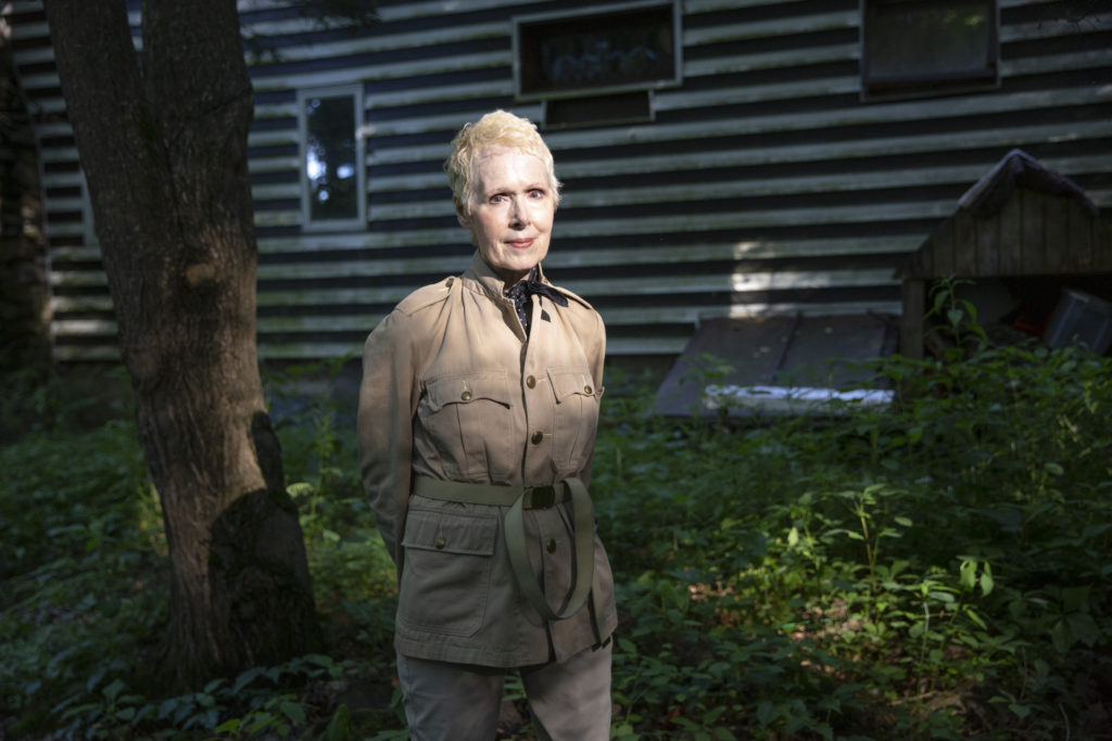 Jean Carroll at her home in Warwick, NY. (Photo by Eva Deitch for The Washington Post via Getty Images)