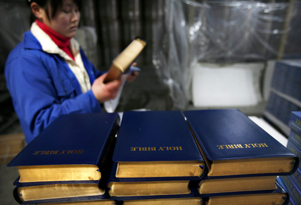 Tariffs could cause a Bible shortage, publishers say