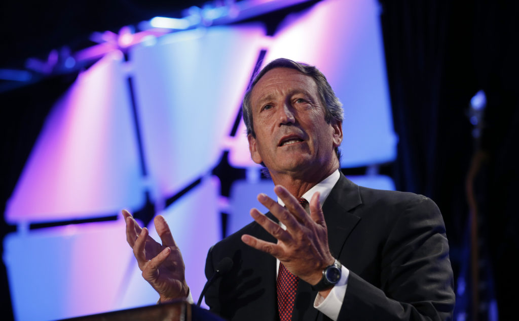 U.S. Rep. Mark Sanford (R-SC) speaks at the Liberty Political Action Conference (LPAC) in Chantilly, Virginia September 19, 2013. Photo by Kevin Lamarque/Reuters