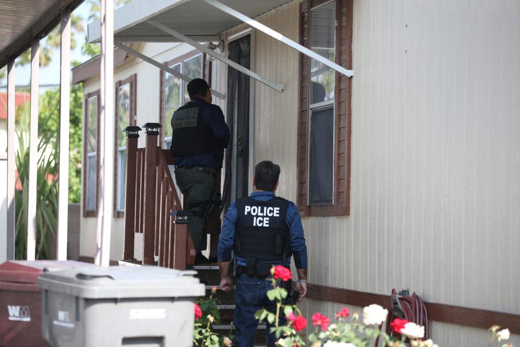 A U.S. Immigration and Customs Enforcement's (ICE) Fugitive Operati…