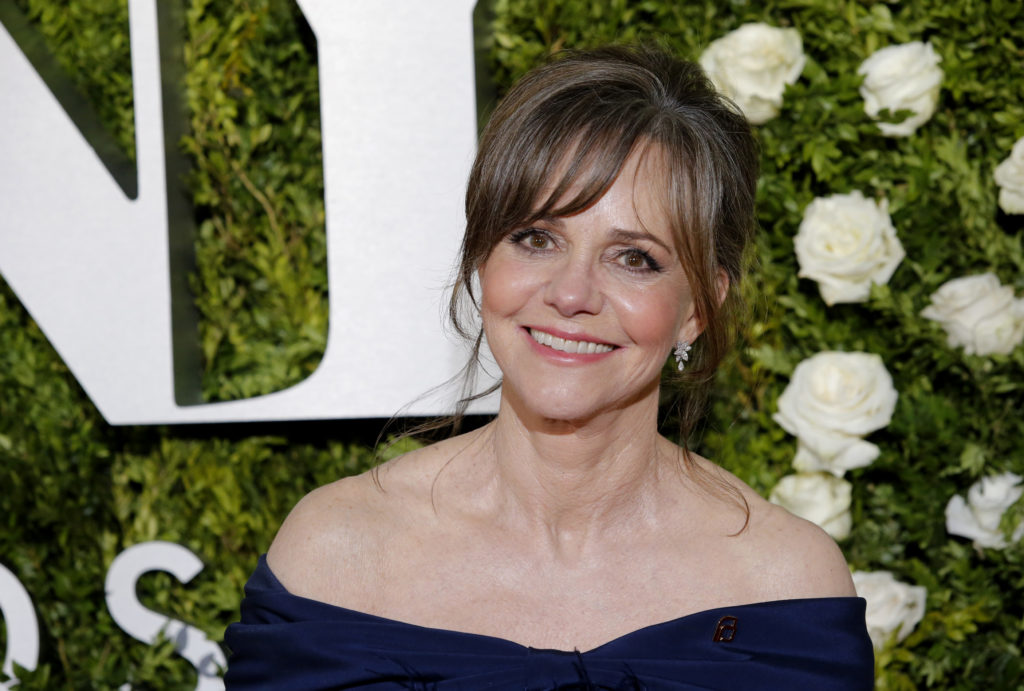Actress Sally Field arrived for the 71st Tony Awards in 2017. Photo by Eduardo Munoz Alvarez/Reuters