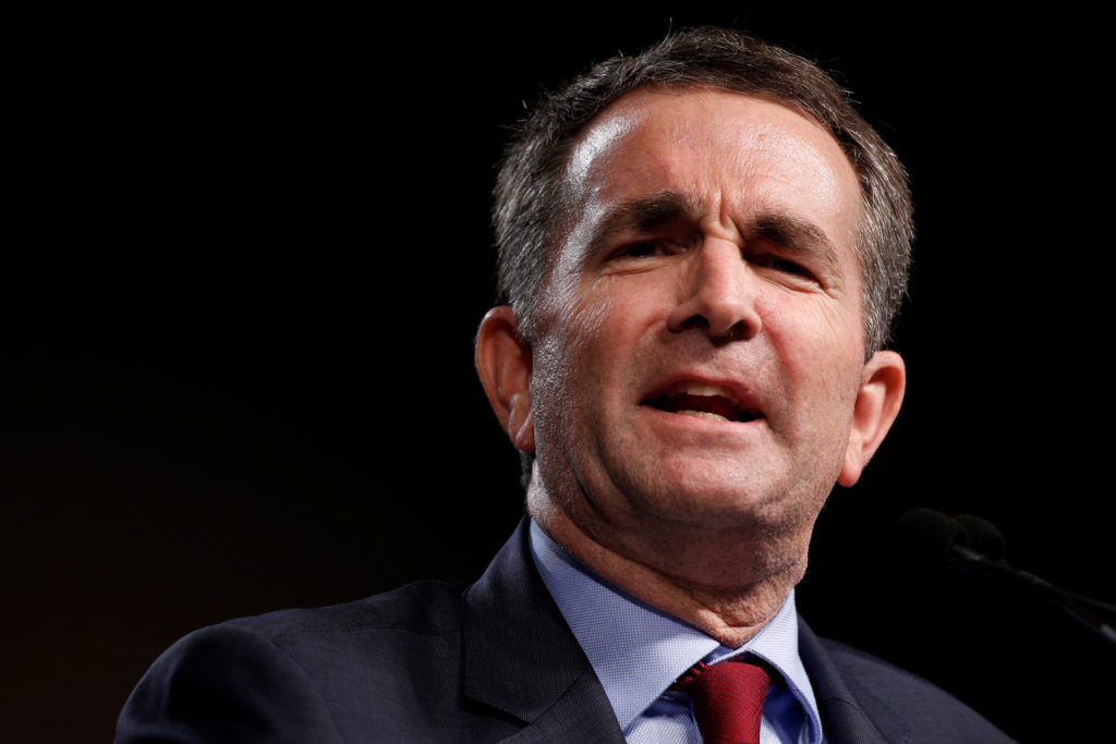 File Photo: Virginia Lieutenant Governor Ralph Northam, called lawmakers back into session to consider new gun legislation. Photo by Jonathan Ernst/Reuters