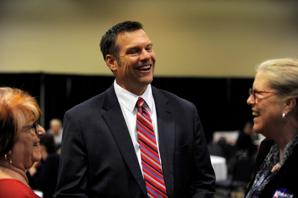 Kris Kobach launches U.S. Senate bid in Kansas
