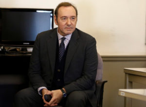 Actor Kevin Spacey is arraigned on a sexual assault charge at Nantucket District Court in Nantucket, Massachusetts, on January 7, 2019. Photo by Nicole Harnishfeger/Pool via Reuters