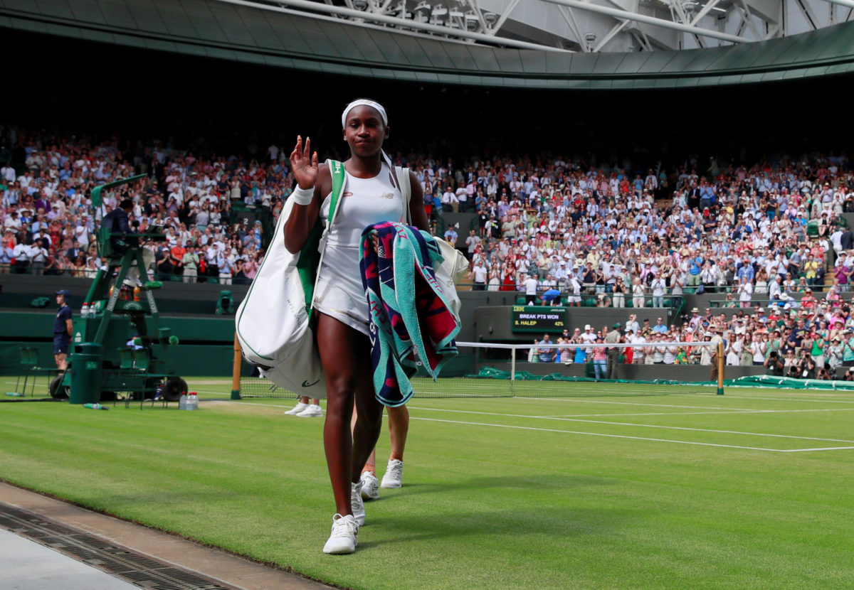 Coco Gauff ends run at Wimbledon after loss in 4th round | PBS NewsHour