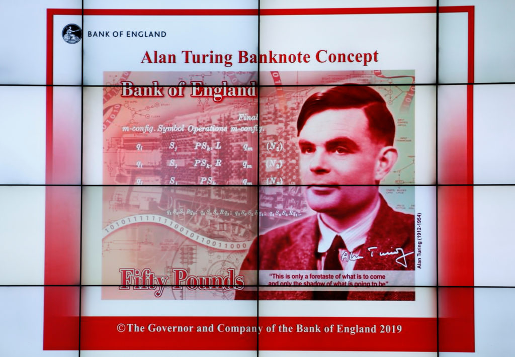 Codebreaker Alan Turing to be the face of a new British banknote