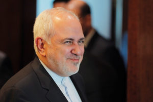 Iranian Foreign Minister Javad Zarif arrives for a meeting at United Nations Headquarters in the Manhattan borough of New York, U.S., July 18, 2019. Photo by: Lucas Jackson/Reuters