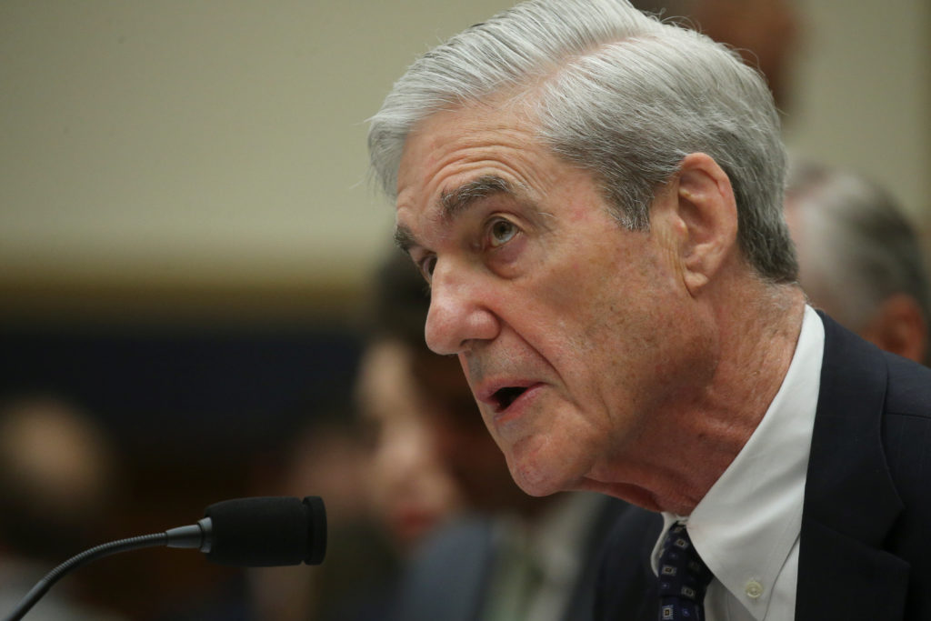 Former Special Counsel Robert Mueller testifies before a House Judiciary Committee hearing on the Office of Special Counsel's investigation into Russian Interference in the 2016 Presidential Election on Capitol Hill in Washington, D.C. Photo by Leah Millis/Reuters
