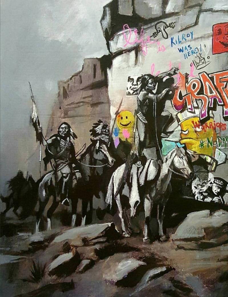 """ARAPAHO Graffiti,"" 2016."