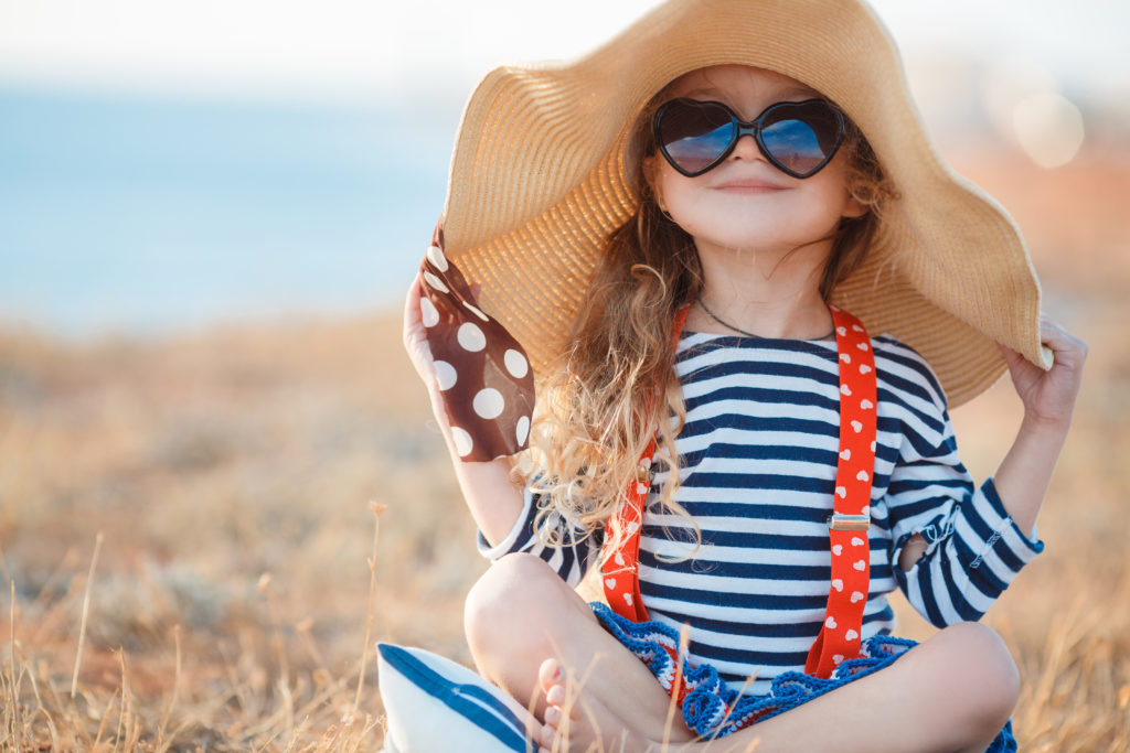 Sunscreen is part of a whole sun protection plan, including sunglasses, hats and other protective clothing. Image by GTeam...