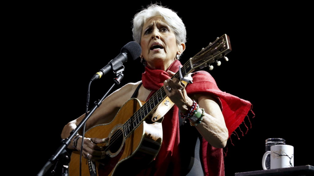 Folk legend Joan Baez reflects on a life in music and activism