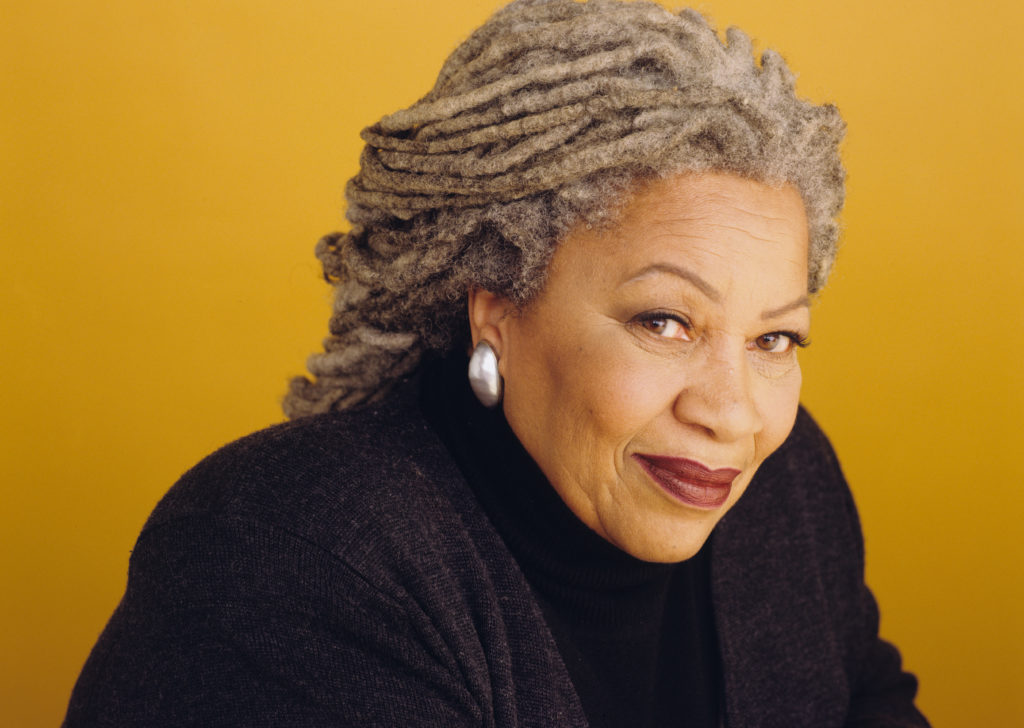 Toni Morrison, the first black woman to receive the Nobel literature prize, has died. Photo by Deborah Feingold/Corbis via Getty Images