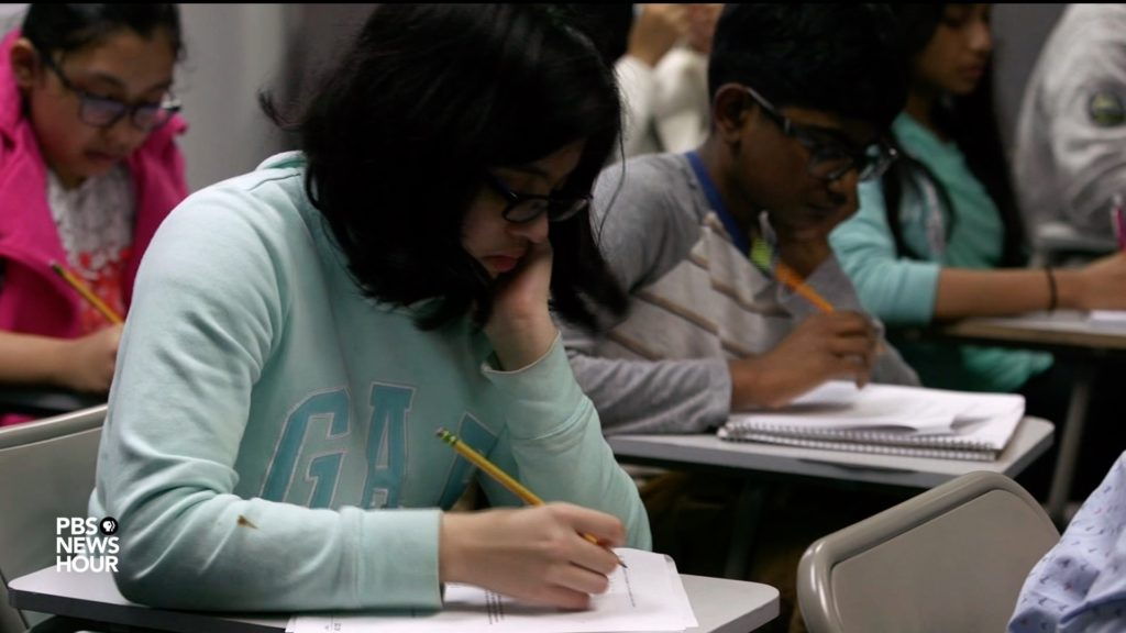 www.pbs.org: Would eliminating this standardized test increase racial equity in elite NYC schools?