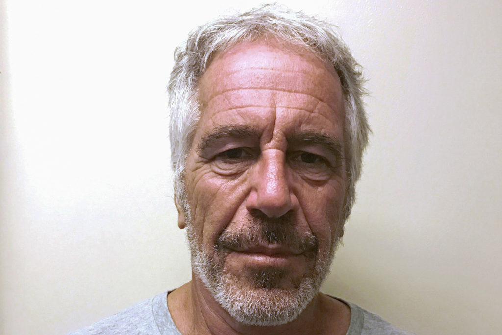 U.S. financier Jeffrey Epstein appears in a photograph taken for the New York State Division of Criminal Justice Services' sex offender registry March 28, 2017 and obtained by Reuters July 10, 2019. New York State Division of Criminal Justice Services/Handout via REUTERS. THIS IMAGE HAS BEEN SUPPLIED BY A THIRD PARTY.