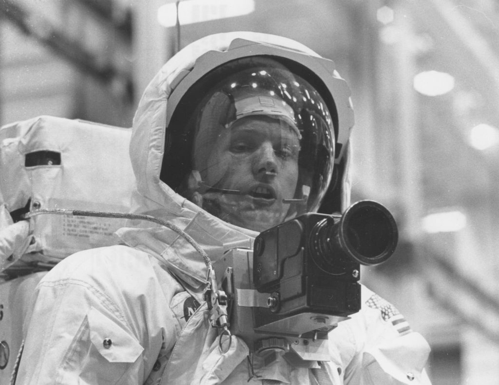 Apollo 11 carried a message of peace to the Moon … but Neil
