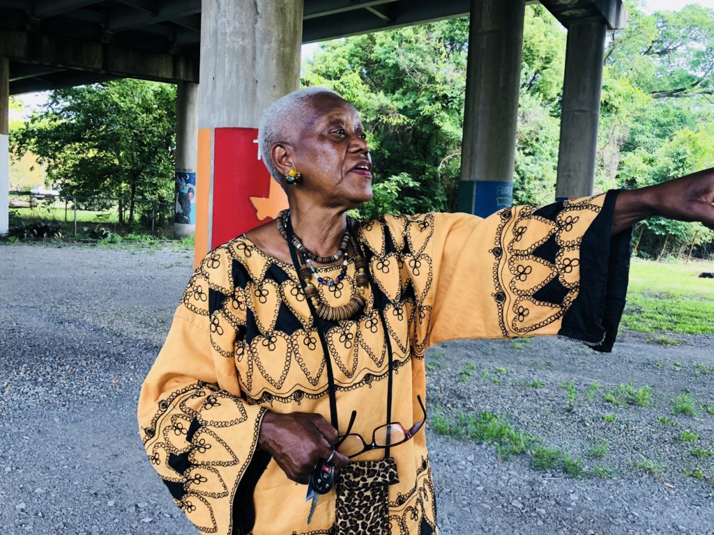 Man arrested in slaying of community activist Sadie Roberts-Joseph