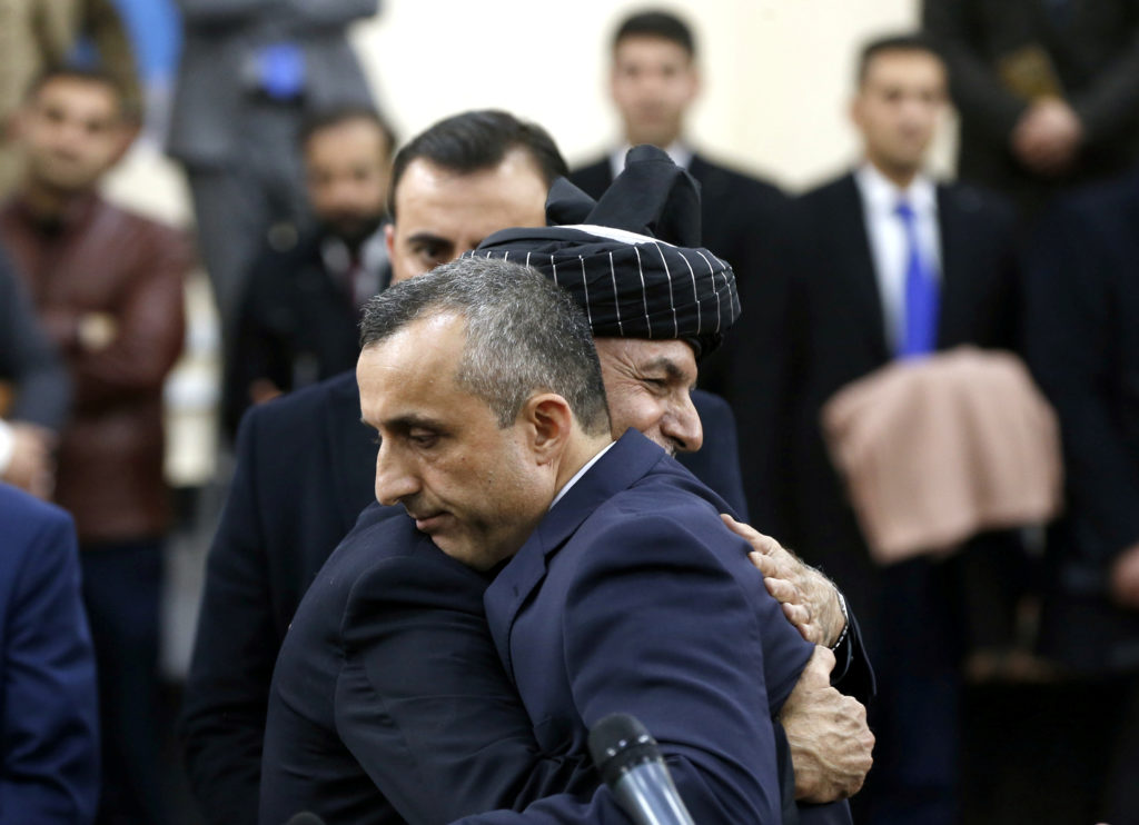 Blast, gunbattle at Afghan VP candidate's office, 2 dead