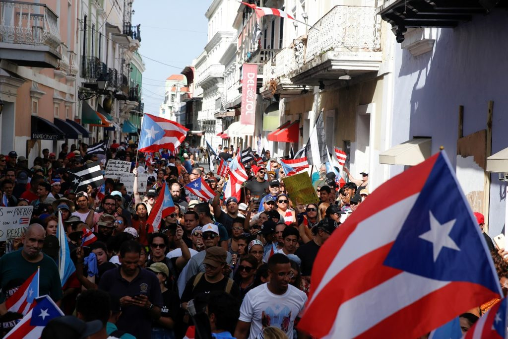 Leaked text messages a 'tipping point' for Puerto Ricans