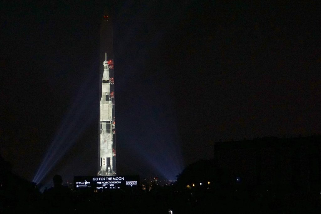 Apollo 11 celebration launches from National Mall…with a monumental