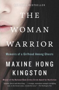 """The Woman Warrior"" by Maxine Hong Kingston. Credit: Vintage Books"