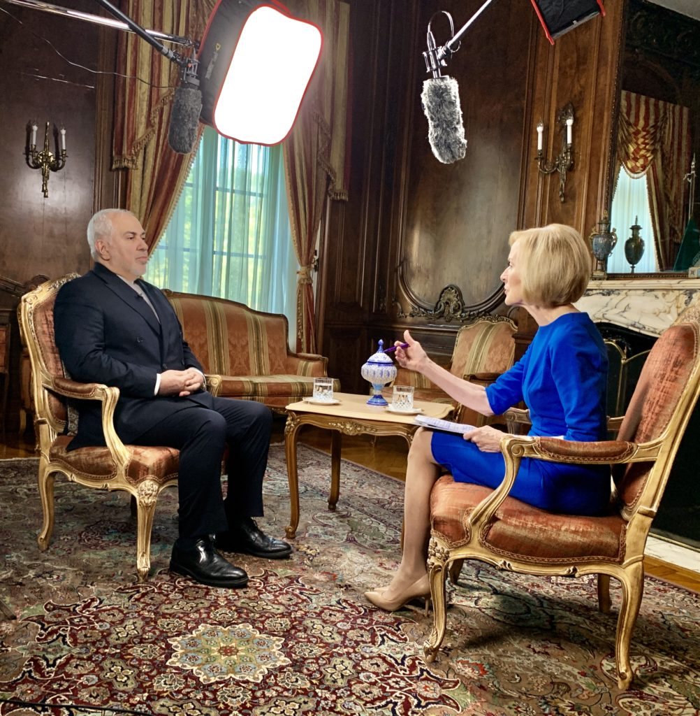 Judy Woodruff interview with Iranian Foreign Minister Mohammad Javad Zarif