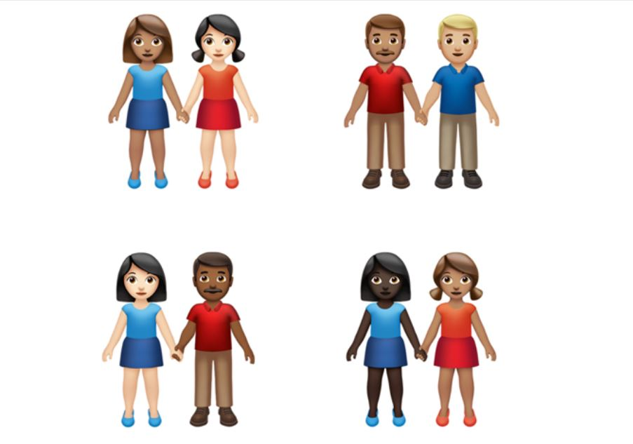 Apple, Google introduce new emoji that are more inclusive