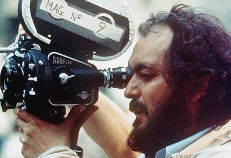 Stanley Kubrick. Photo by Instituto María Auxiliadora Neuquén/Flickr, CC BY-SA