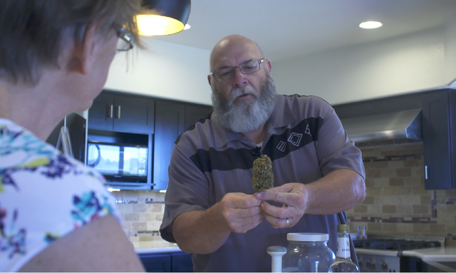 Retired cop guides Arizona seniors as medical cannabis coach