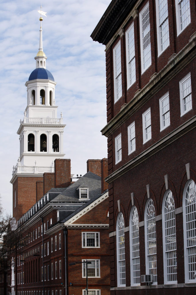 A general view of Harvard University is seen in Cambridge, Massachusetts November 16, 2012. REUTERS/Jessica Rinaldi (UNITED STATES - Tags: EDUCATION)