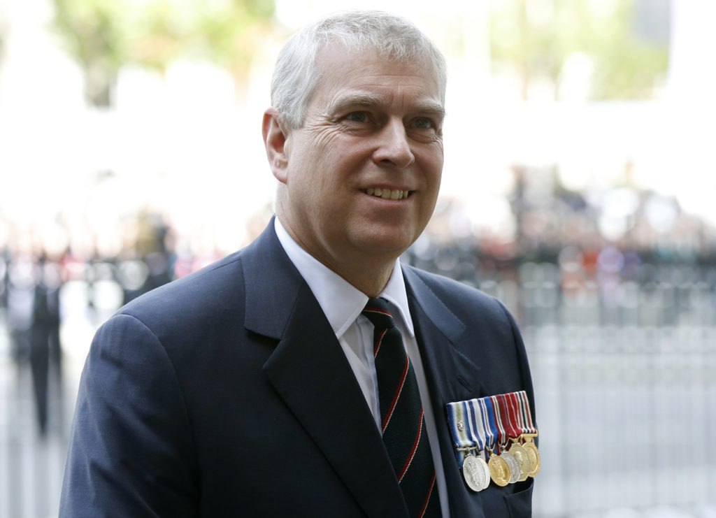 FILE PHOTO: Britain's Prince Andrew arrives at Westminster Abbey fo…