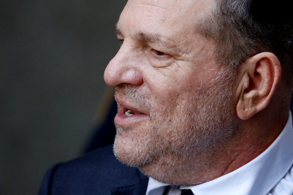 Film producer Harvey Weinstein exits New York State Supreme Court after a hearing in his rape case in New York, U.S., July 11, 2019. Photo by: Mike Segar/Reuters