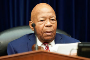 "House Oversight and Reform Committee Chair Elijah Cummings (D-MD) chairs a House Oversight and Reform Committee hearing focusing on the ""Trump Administration's Child Separation Policy"" on Capitol Hill in Washington, U.S., July 18, 2019. Photo by Joshua Roberts/Reuters"