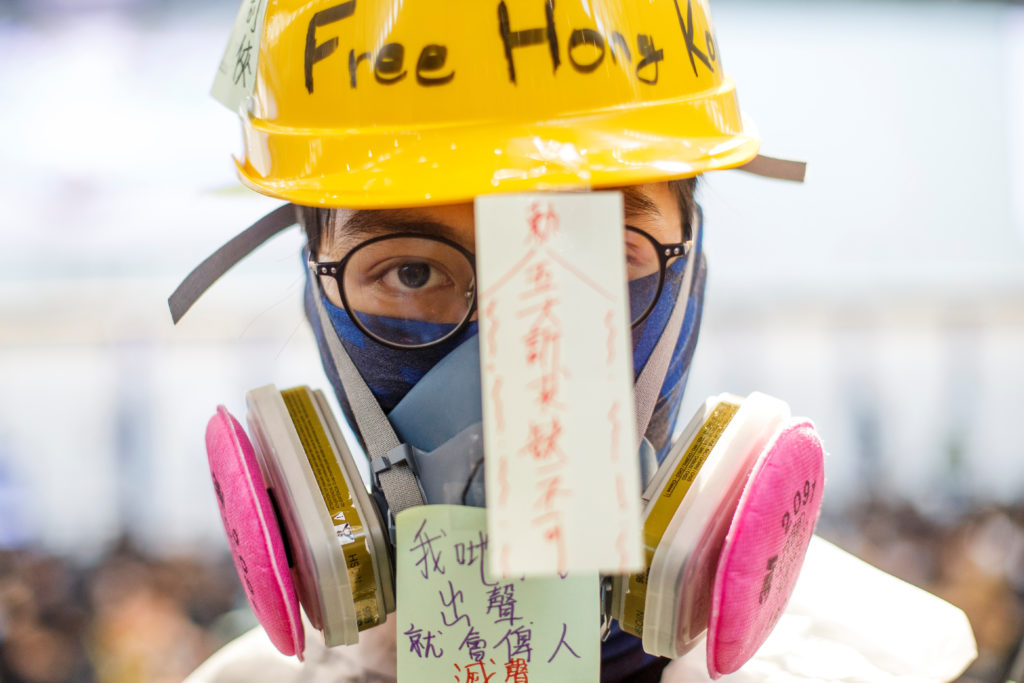 Hong Kong leader Lam says priority is to stop violence | PBS NewsHour