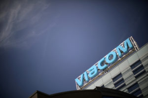 The Viacom office is seen in Hollywood, Los Angeles, California, April 24, 2018. Photo by: Lucy Nicholson/File Photo/Reuters