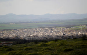 FILE PHOTO: A general view shows Khan Sheikhoun in the southern countryside of Idlib on March 16, 2015. Photo by Khalil Ashawi/Reuters