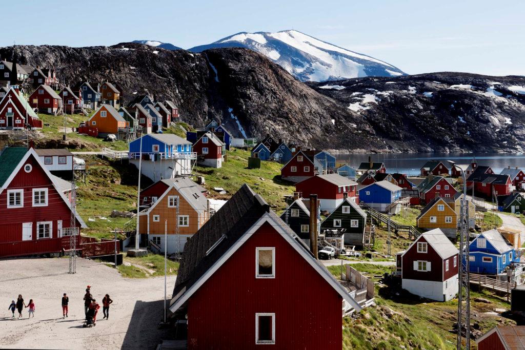 General view of Upernavik in western Greenland, Denmark July 11, 2015. Photo by Ritzau Scanpix/Linda Kastrup via Reuters