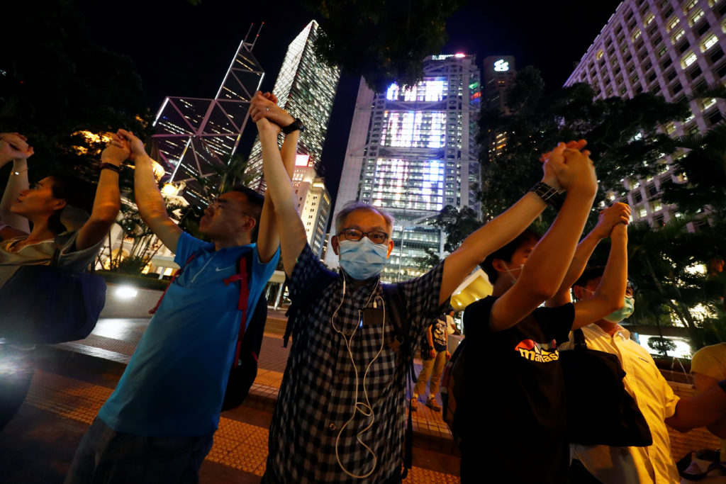 Hong Kong police arrest 29 after overnight clashes, more protests planned