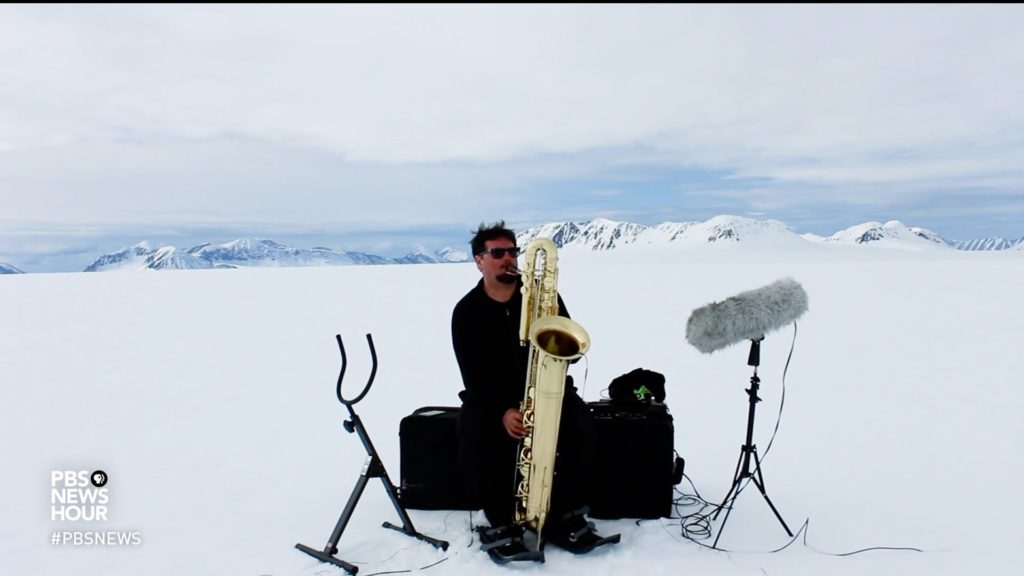 How composer Matthew Burtner is putting climate change into song