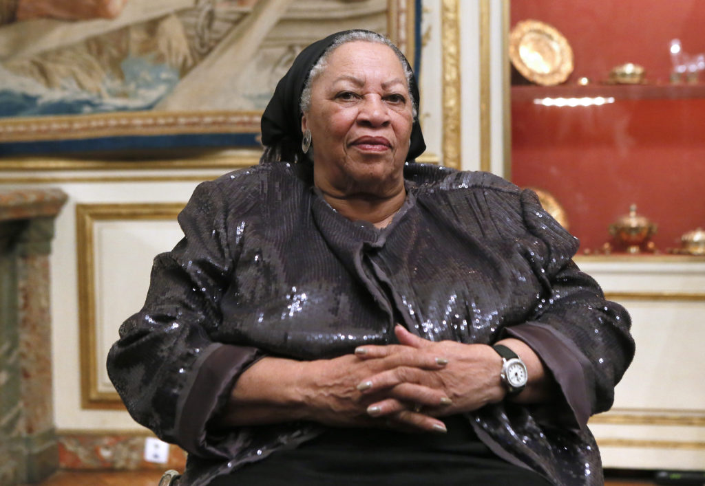 American writer Toni Morrison, who was awarded the Nobel Prize for …