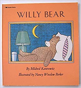 """Willy Bear,"" by Mildred Kantrowitz, illustrated by  Nancy Winslow Parker. Credit: Aladdin"